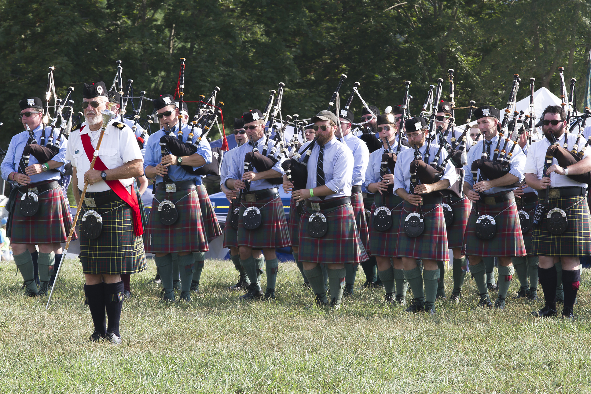 VA Scottish Games Mass Band, 2015